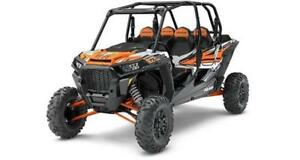 2018 Polaris RZR XP Turbo EPS 4 seater Ghost Grey