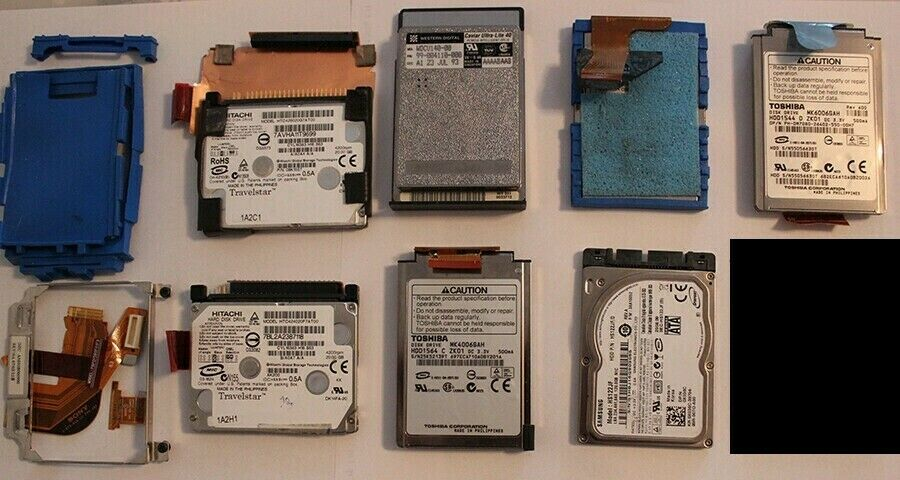 7x Mini HDD, Apple Ipod, Mac, Laptop