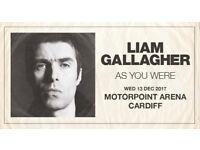 2 Liam Gallagher tickets Cardiff
