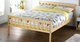Brand New Solid Pine Kings Size Bed frame Pine Shaker
