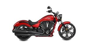 2016 Victory Vegas in Sunset Red