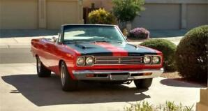 1969 Plymouth Road Runner CONVERTIBLE Rare