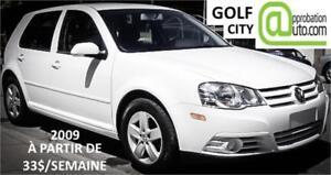 2009 Volkswagen City Golf, À PARTIR DE 33$/SEMAINE 100% APPROUVÉ