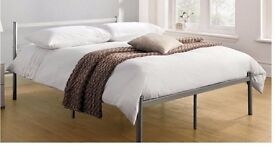 **FREE DELIVERY** BRAND NEW DOUBLE/SINGLE METAL BED FRAME WITH VARIETY OF QUALITY MATTRESSES