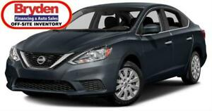 2017 Nissan Sentra S / 1.8L I4 / Auto / FWD **Only 38K**