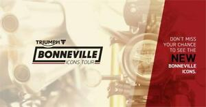 Triumph Bonneville Icons Tour - Presented by 9B's Production