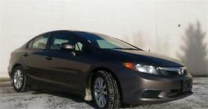 2012 Honda Civic EX - We Finance Multiple Repossession History!