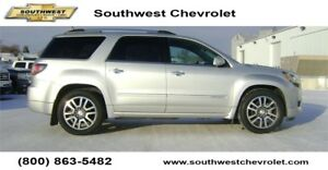 2016 GMC Acadia Denali, 51700km, Heated Leather, SK Tax Paid