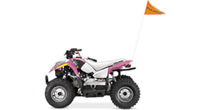 POLARIS OUTLAW 50 - ROSE PUISSANT 2017