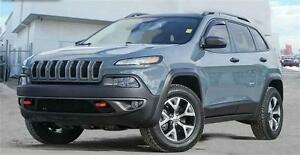 2016 Jeep Cherokee Trailhawk 4x4 ~ Leather ~ Nav ~ $200 B/W
