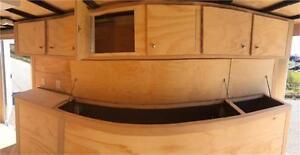 7ft x 16ft Enclosed Tool Box Trailer (RTBT7x16TA2) London Ontario image 3