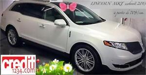 2013 Lincoln MKT EcoBoost,À PARTIR DE 70$/SEM. 100% APPROUVÉ !!!