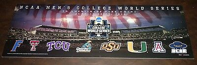 2016 Ncaa Baseball College World Series Td Ameritrade Park All Team Print Poster