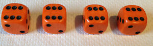 4x-ORANGE-with-Black-spots-Dice-Dust-Valve-Caps