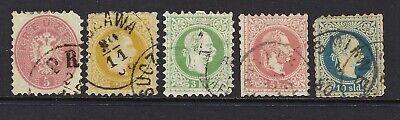 AUSTRIA SC# 24//30, USED, LOT 1-7-77