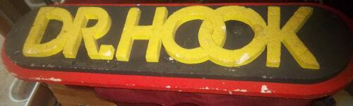 DR. HOOK 1970s PROMO Styrofoam Sign RARE!!