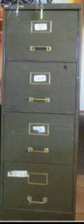 Filing Cabinet - 4 drawer locking