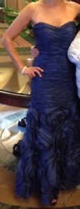 Beautiful navy formal gown
