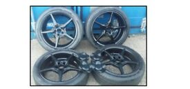 Wolfrace 215/45R17 Alloy wheels with tyres