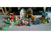 Peppa Pig Toy Set Bundle Including over 30 figures ( See Photo )