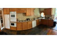 Complete solid pine kitchen
