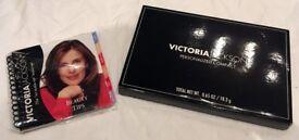 VICTORIA JACKSON MAKE UP PERSONALISED COMPACT EYE SHADOW, LIP GLOSS & BLUSH GIFT BRAND NEW UNUSED