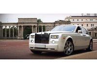 Rolls Royce Phantom Chauffeur Wedding Car Hire Manchester | Bolton | Bradford | Rochdale | Salford