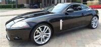 2007 Jaguar XKR COUPE -- SUPERCHARGED -- BLACK ON BLACK -- CANAD