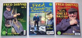 THREE BOOKS ( FRED DIBNAH )