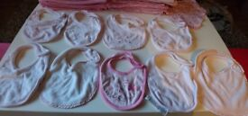 Girls Newborn/New baby, 1st Size and Up to 1 month bundle - 52 items