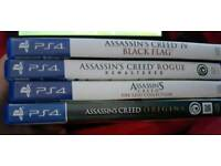 Assassins Creed PS4 Games