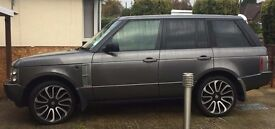 Range rover with facelift