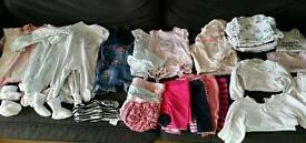 Twin girl bundle (0-6 months)