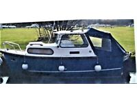 HARDY NAVIGATOR 18 BOAT Wanted