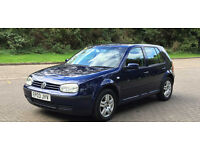 2003 Volkswagen Golf 1.6 Match ,Full Service History, P/X WELCOME
