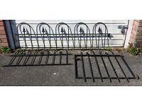 Black Wrought Iron Fences & Gate