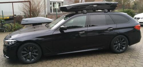 thule dachbox motion xt bmw 5er touring g31 f11 mieten od. Black Bedroom Furniture Sets. Home Design Ideas