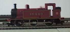 Hornby Railways 00 Gauge R301 ( 1980 to 1981 ) LMS Class 3F 0-6-0T Locomotive - Running Number 16440