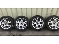 Mini Cooper Set of Alloy Rims & Tyres