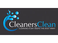 £8.00 Per Hour Commercial Self-Employed Cleaners Wanted in Hackney