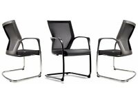 Sidz T50C boardroom/visitor chairs black, Good condition, 12 available, Pick up only, £20 each chair