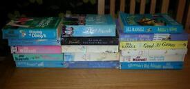 16 X Jill Mansell books
