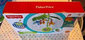 Fisher-Price Rain-forest Peek-A-Boo Musical Mobile - NEW & BOXED