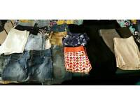 Joblot women's skirts and shorts