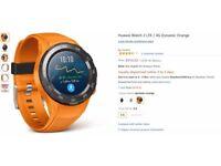 Huawei Watch 2 LTE / 4G Dynamic Orange