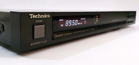 Technics ST-600L - HIFI Separate - Quartz Synthesizer AM/FM Stereo Tuner - Radio with presets