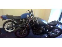 1982 XJ550 BOBBER PROJECT X 2 - YES TWO BIKES - ONE 90% COMPLETE & DONOR - BOTH V5'S PRESENT - SWAP?