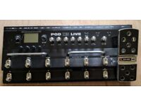 Line 6 Pod X3 Live - great for space saving, recording, headphone practice e.t.c.