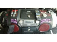 Vintage JVC RV-DP200 POWERED SUB WOOFER CD SYSTEM WITH REMOTE FETCHING A FORTUNE ON EBAY LOOK
