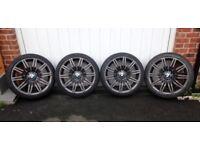 Genuine BMW spider alloy wheels 19x8.5 5x120 anthracite 245 40 19 tyres
